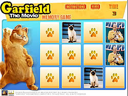 Garfield Memory Game