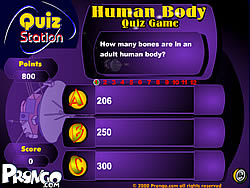 Human Body Quiz Game