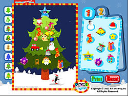Making Christmas Tree