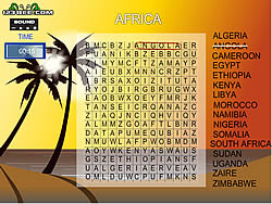 Word Search Gameplay 5 - Africa