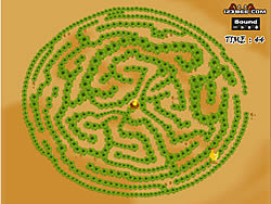 Maze Game - Game Play 1: Find The Chicken