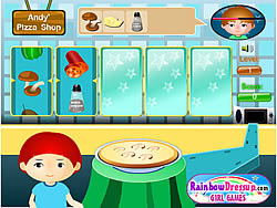 Andy's Pizza Shop