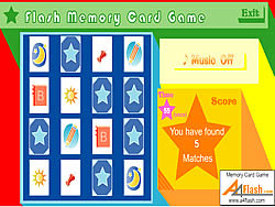 Flash Memory Card Game