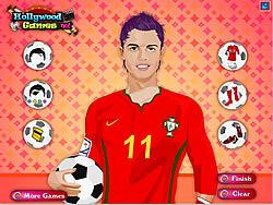 Christiano Ronaldo Dressup