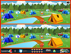 Camping - Spot The Difference