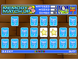 Toy Story Memory Match-Up