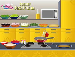 Cooking Pizza Italiana