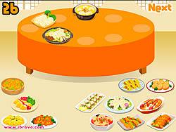 Sort Dinner Table