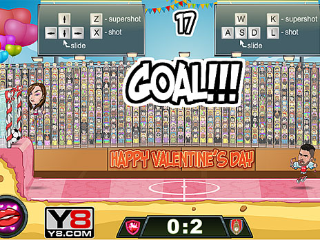 Football Legends Valentine Edition Play Football Legends Valentine