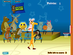 Giraffe Basketball