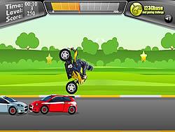 2 Wheeler Stunt
