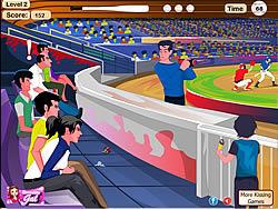 Lovers At A Baseball