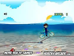 Ben 10 Motocross Under the Sea
