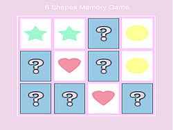6 Shape Memory Game