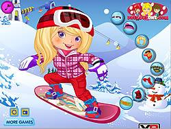 Snowboarder Girl Dress Up