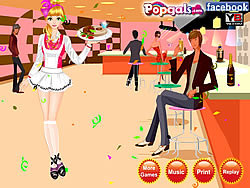 Waitress Dress Up