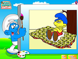 Color The Smurfs