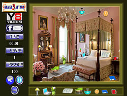 Bed Room Hidden Object