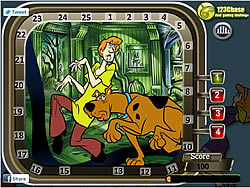 Scooby Doo Hidden Numbers