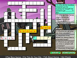 Creepy Crossword