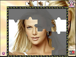 Charlize Theron Puzzle