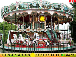 Hidden Numbers Merry Go Round
