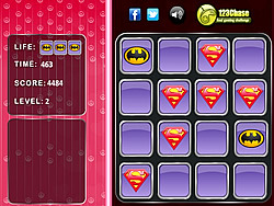 Superman Logo - Memory Match
