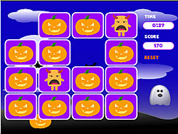 Spooky Creatures Memory Game