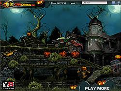 Halloween Graveyard Racing Y8