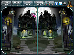 Halloween - Spot the Difference Game