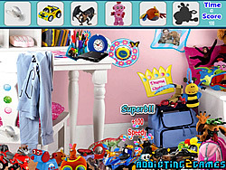 Modern Toys Room Hidden Object