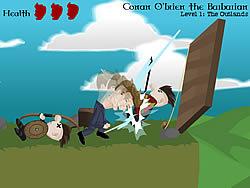 Conan O'Brien the Barbarian