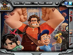 Wreck It Ralph - Hidden Objects