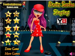 Bratz Sasha Singing Dressup