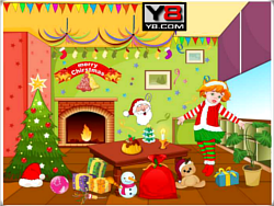Christmas Hall Decor 2012