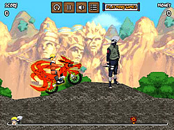Naruto Bike Mission