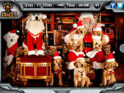 Santa Paws - Hidden Objects