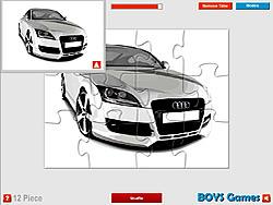Audi Super Car Puzzle
