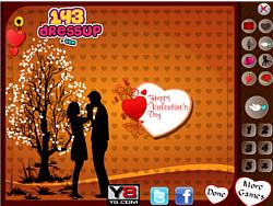 Valentines Card Design