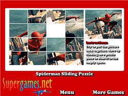 Spiderman Sliding Puzzles