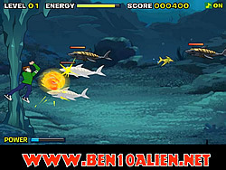 Ben 10 Sea Monster