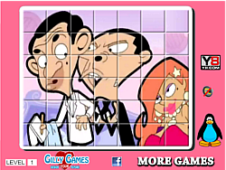 Mr Bean  spin puzzle