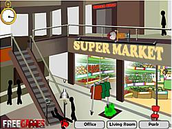 Stickman Death Shopping Mall