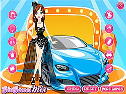 Auto Show Girl