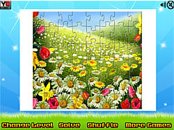 Nature Flowers Puzzle