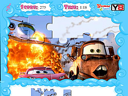 Jolly Jigsaw - Cars 2