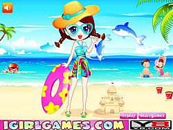 Summer Beach Dress Up