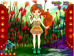 Cute Thumbelina Dress Up