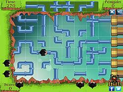 Penguin Pipe Maze