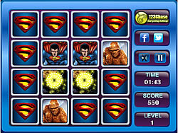 Super Heroes Memory Matching